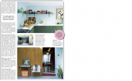 Pet project, 5 page feature in Stella Magazine about Whinnie William's fabulous retro home.