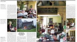 Making Merry, 4 page feature in The Telegraph Magazine about the stunning 18th-century barn, which is home to Sue Jones, founder of OKA.
