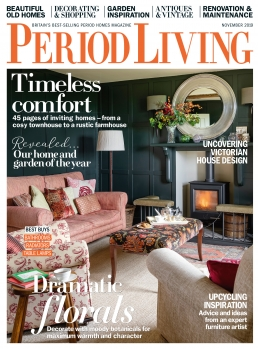 Front cover of Period Living November 2019