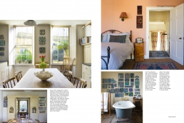 Lasting Impressions, 6 page feature in Period Living Magazine of Peter and Helen Malone's beautiful Georgian townhouse.