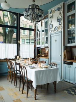 Helma Bongenaar's Home, the dining room