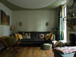 Helma Bongenaar's Home, sitting room