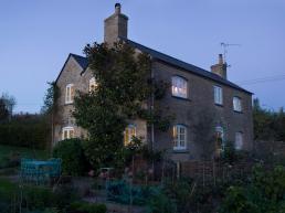 Luke Edward Hall's house exterior